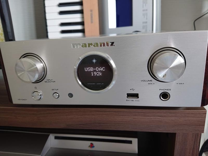 マランツのUSB-DAC内蔵ヘッドホンアンプHD-DAC1