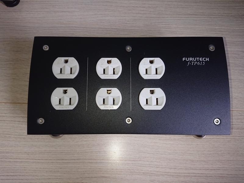 フルテックの電源タップf-TP615