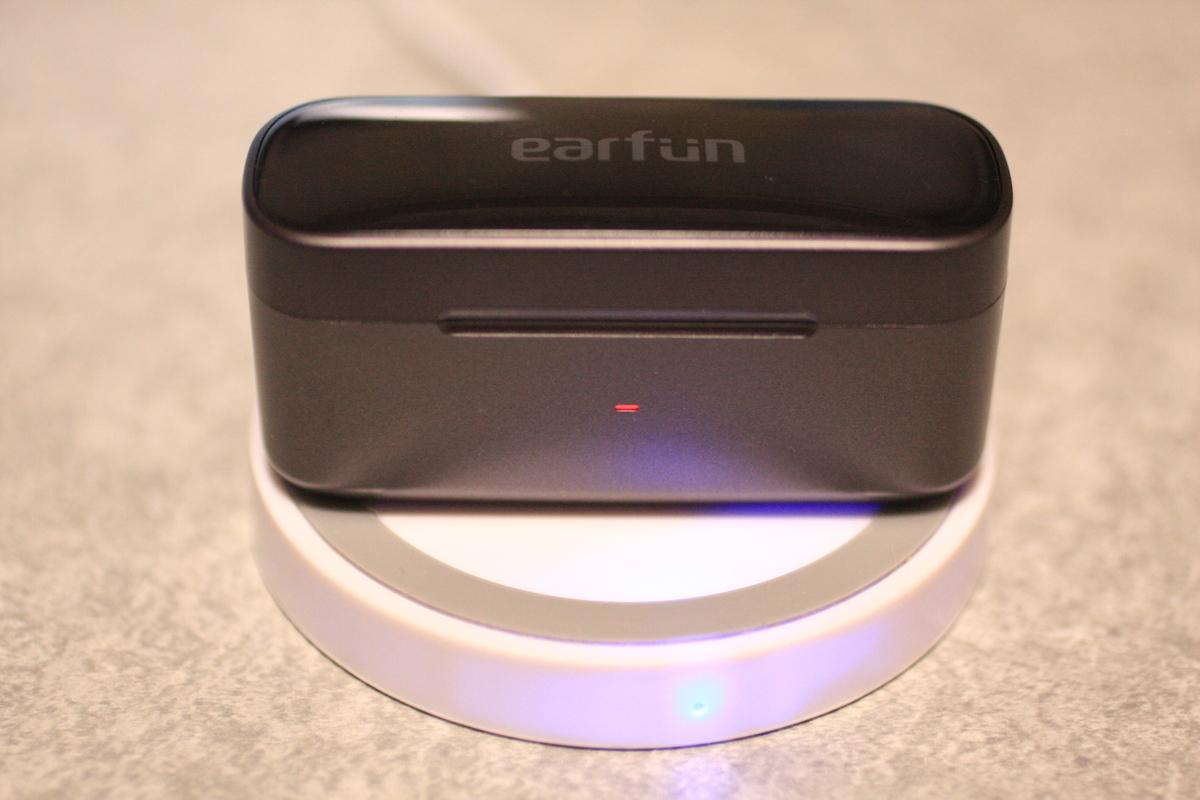 ワイヤレス充電 EarFun Free Pro