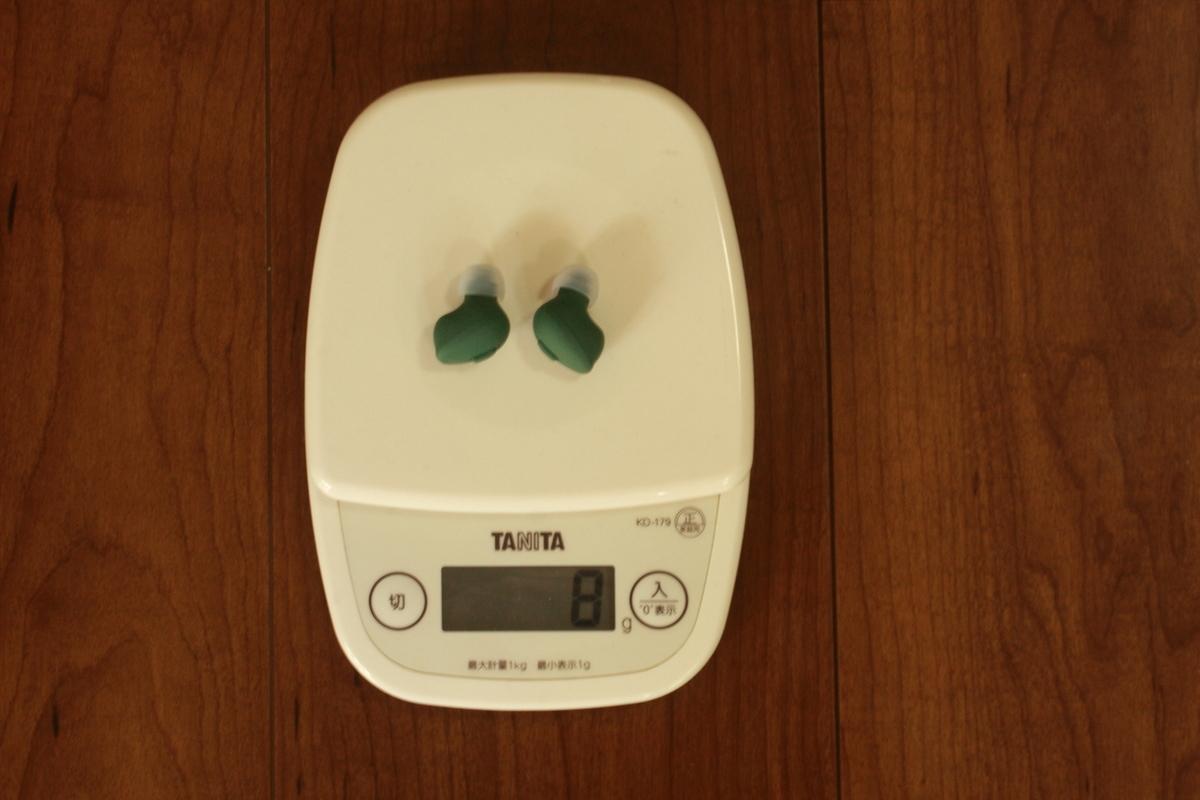 TWS03R 重量