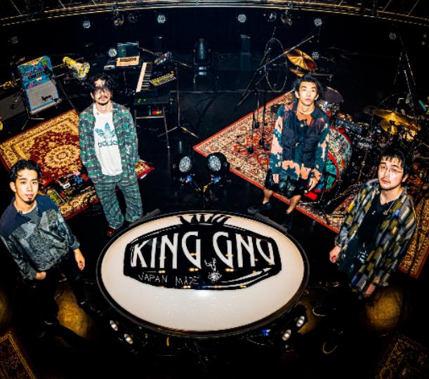 kingGnu シークレットライブ