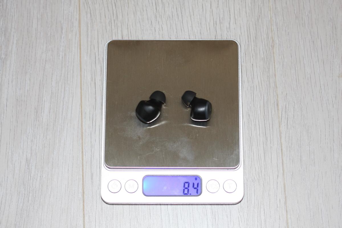 SoundPeats mini 重さ