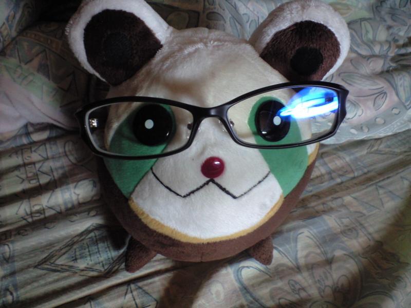 PCメガネ買ったから着用写メうp