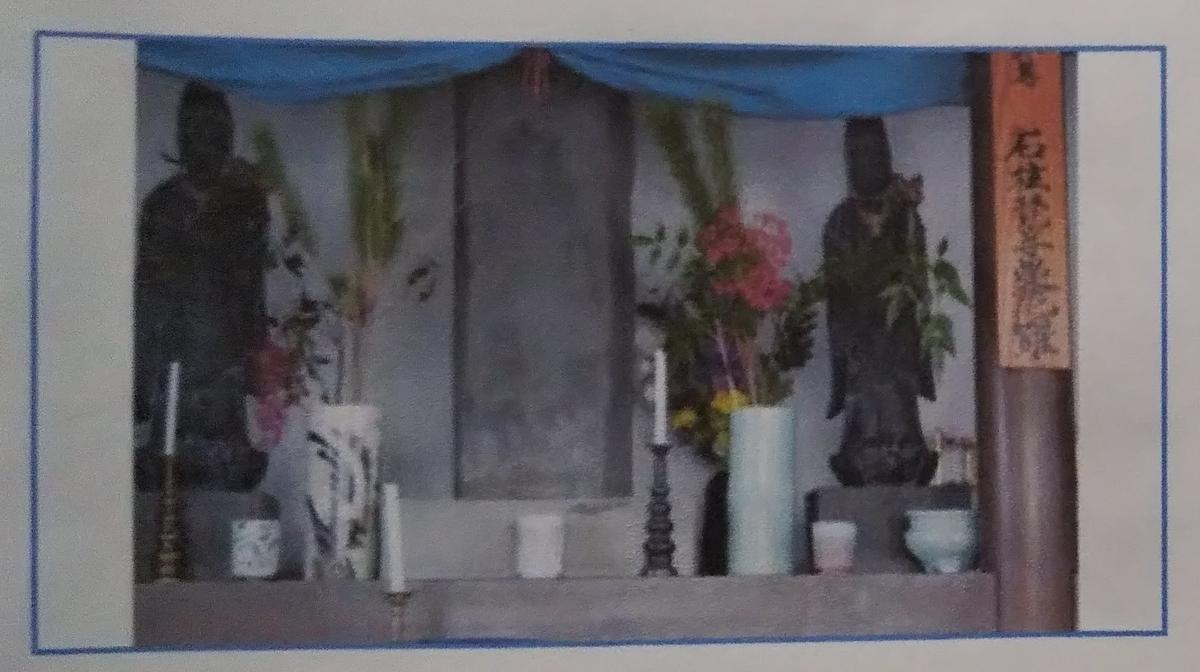 講演会資料「植木石柱梵字曼荼羅碑が語るもの」より 福岡県直方市植木の石柱梵字曼荼羅碑