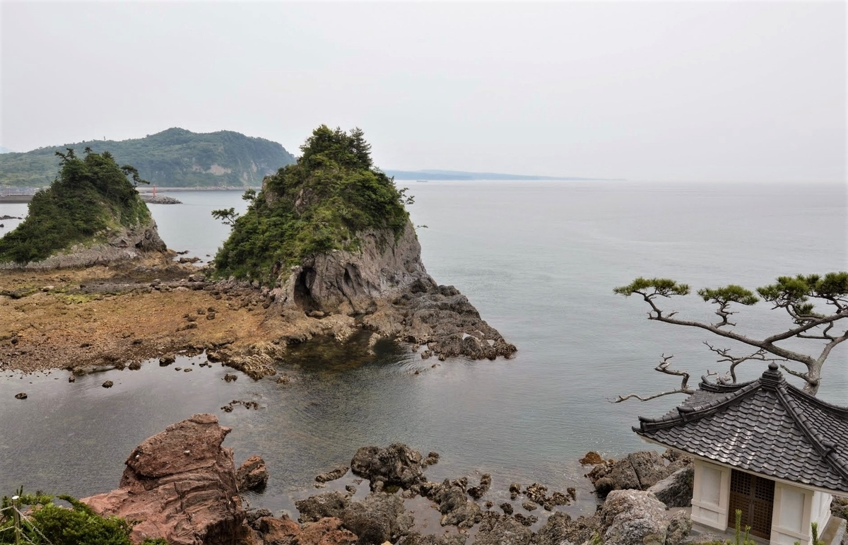 姫島観音崎 黒曜石の原産地