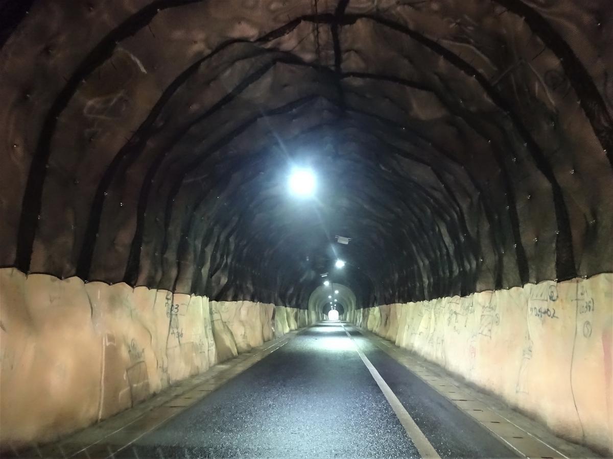 櫨ヶ峠隧道 内部 福岡県北九州市小倉南区新道寺