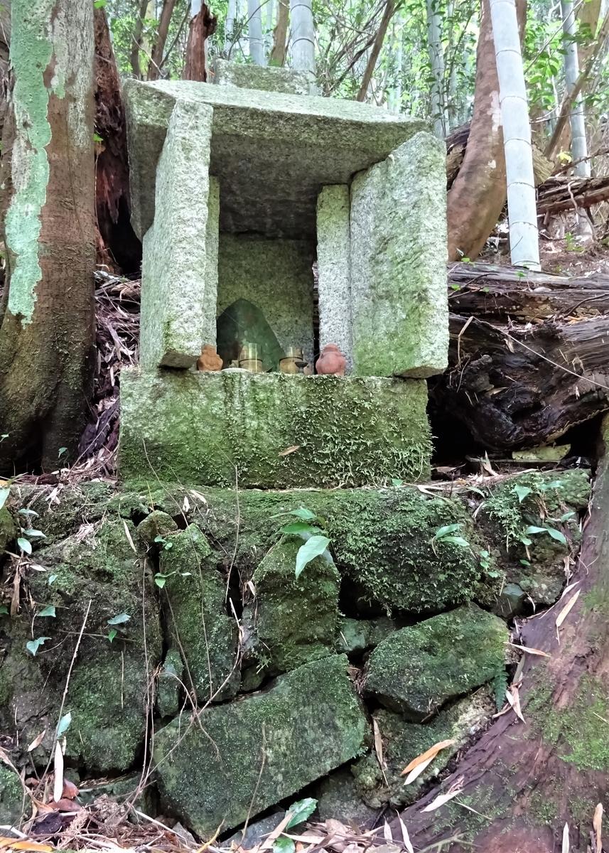 大山祇神社の祠 福岡県北九州市小倉南区