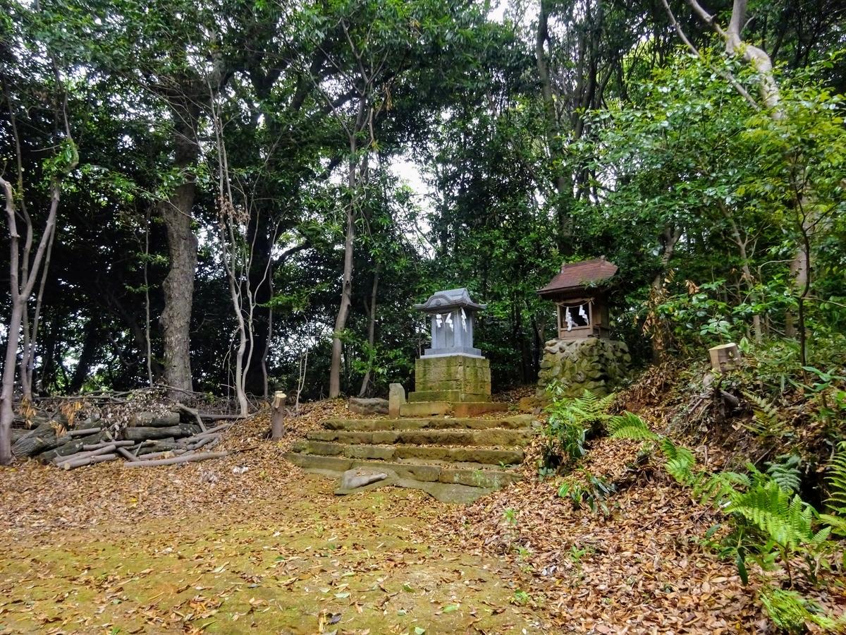 八所神社の荒五郎様 福岡県北九州市八幡西区野面