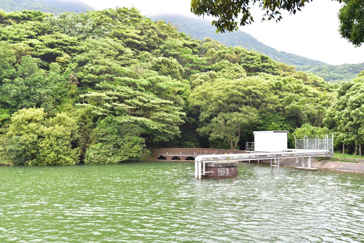 大久保貯水池の浄水器 北九州市門司区