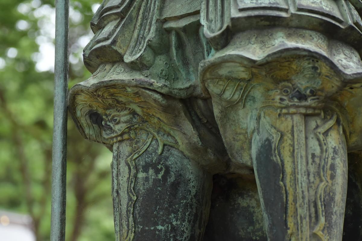 福岡県遠賀郡岡垣町大字高倉 高倉神社の毘沙門天像