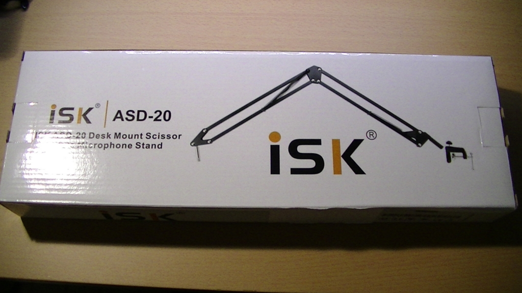 iSK ASD-20 パッケージ