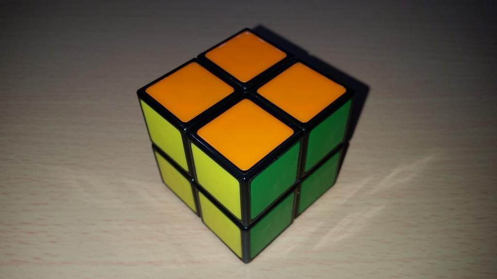 メガハウス 2×2×2 背面