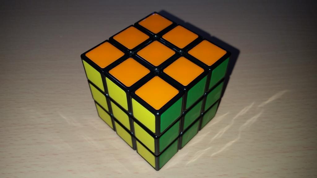 メガハウス 3×3×3 背面