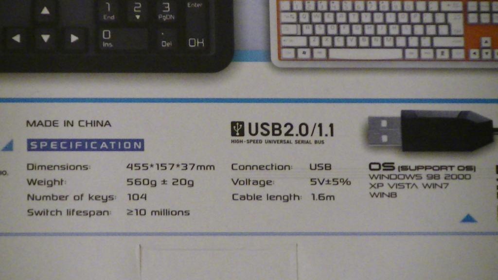 K738 パッケージ スペック表