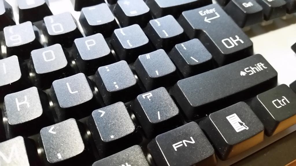 英語キーボードの記号