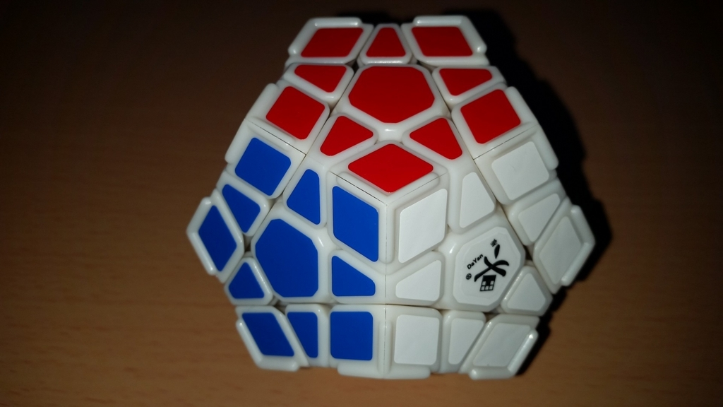 DaYan Megaminx with Ridge 正面