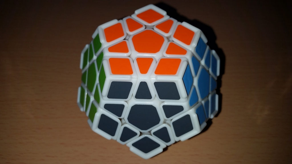 DaYan Megaminx with Ridge 背面