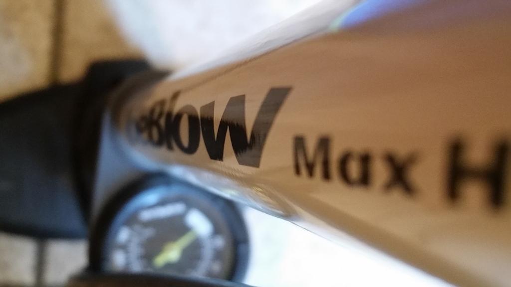 TOPEAK「JoeBlow Max HP」