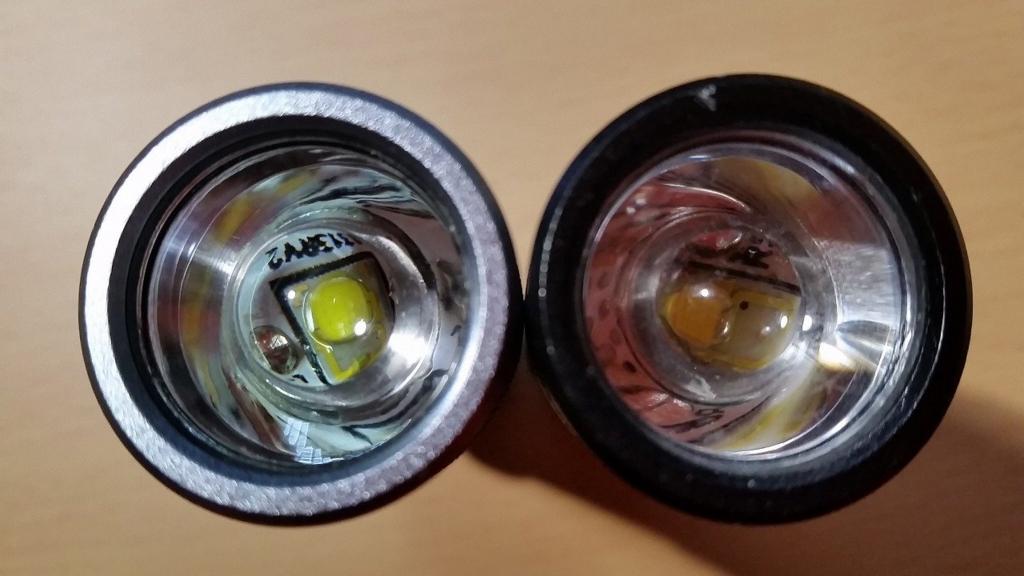 LEDのチップは、当然違う