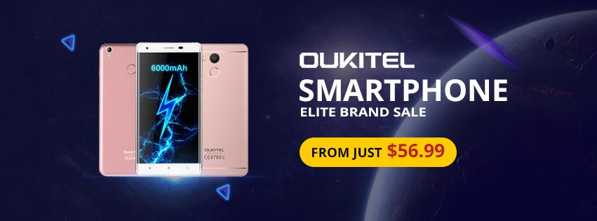 OUKITEL SMARTPHONE BRAND SALE