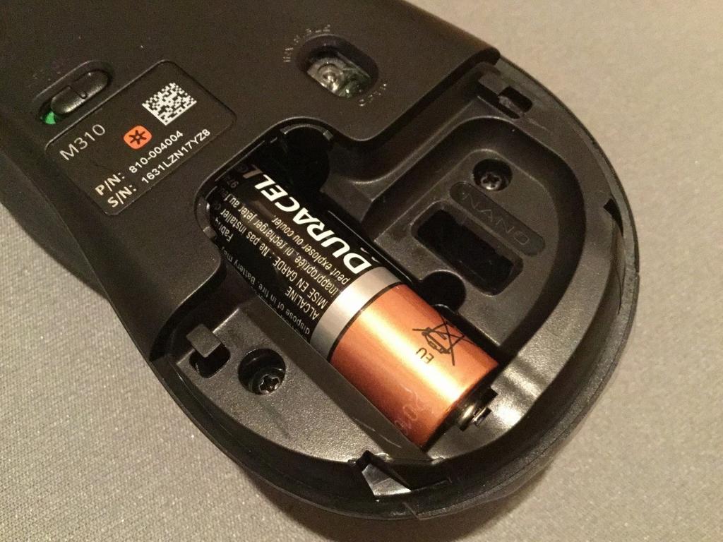 単三電池かける×1で駆動