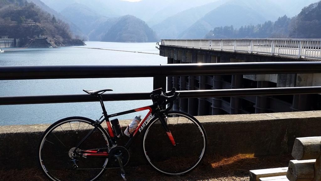 【ロードバイクの初ライド!】奥多摩湖ルート