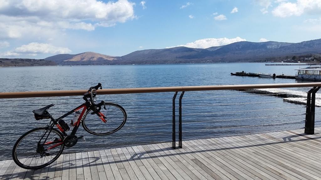 空気の澄んだ山中湖
