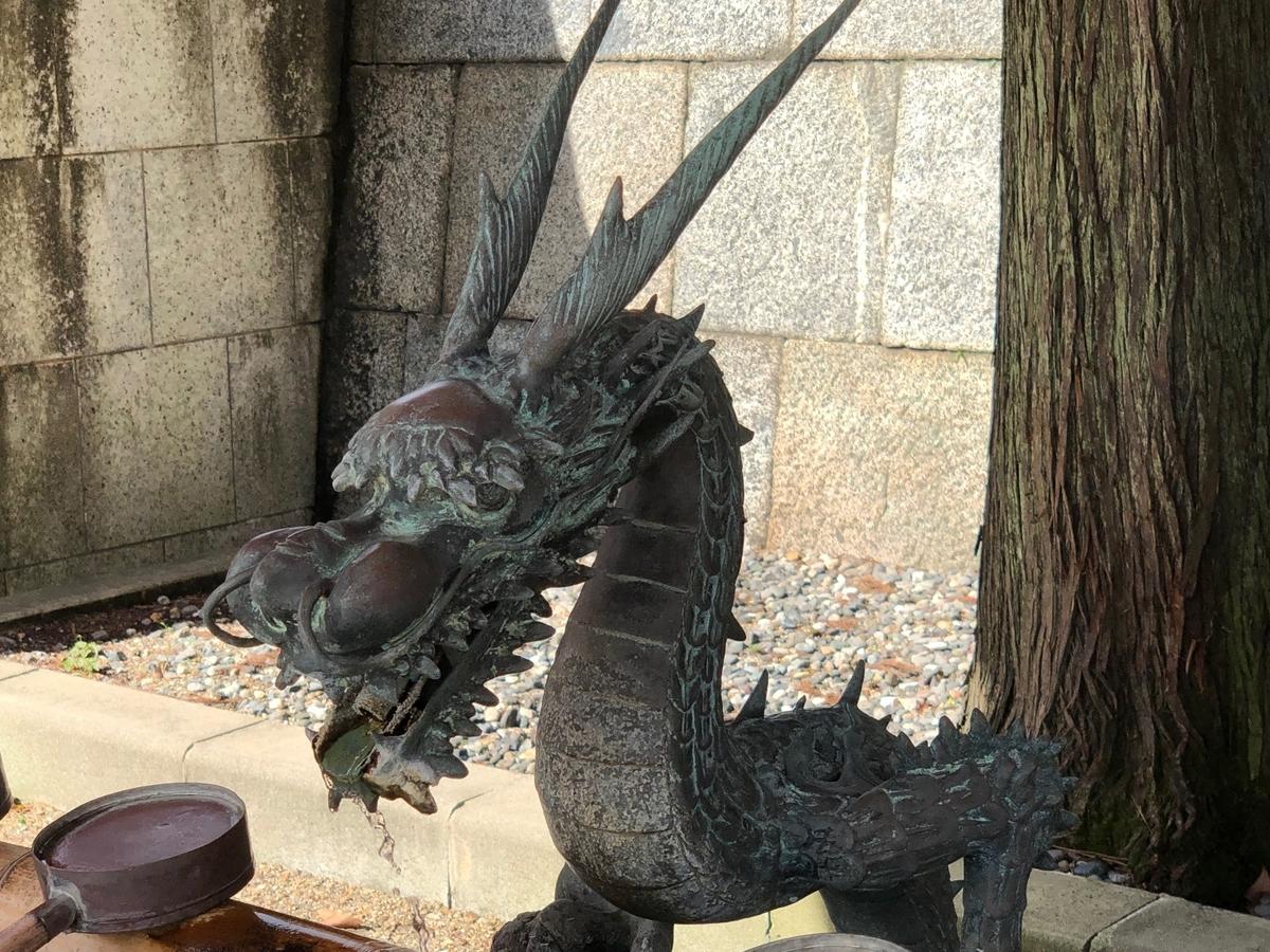 五社神社・諏訪神社の手水鉢
