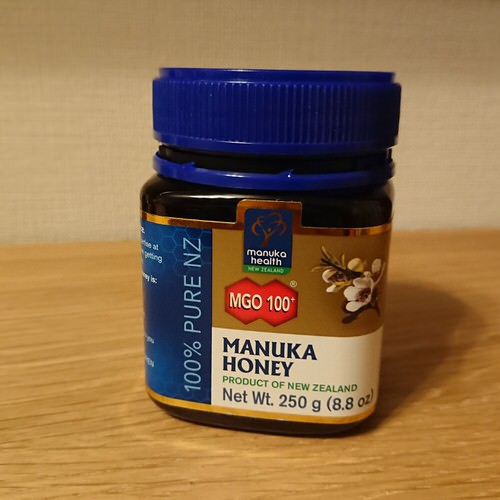 Manuka HealthのマヌカハニーMGO 100+