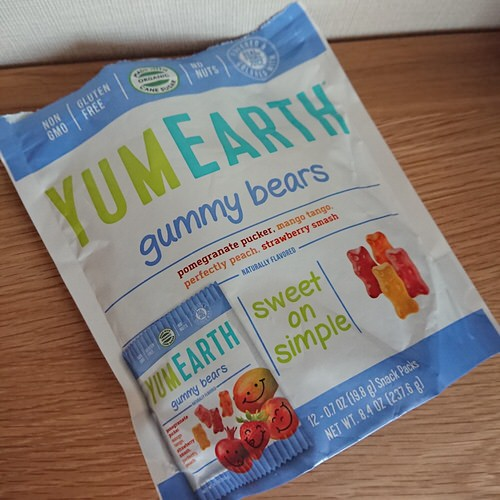 YumEarth, グミベアー 12袋サイズ