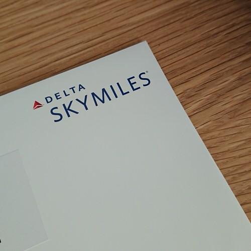スカイマイルの封筒