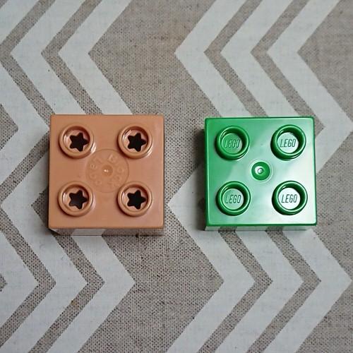 ブロックラボとレゴデュプロの比較