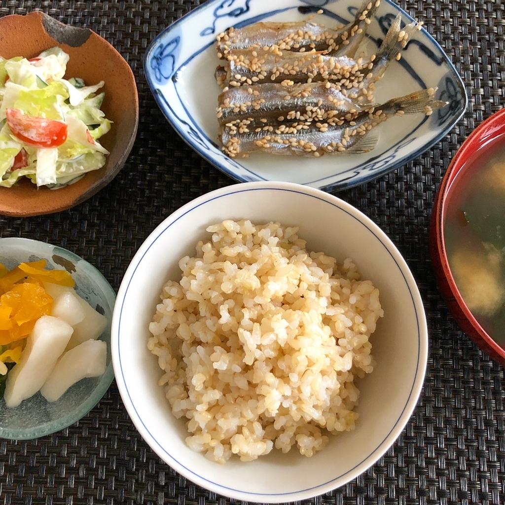 大阪 五ツ星お米マイスター れいこ 朝ごはん 石川県産 りくつな コシヒカリ