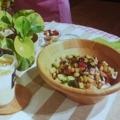 [ファミリーマート ファ] ファミリーマートの「ファミコレ」を使ったサラダ