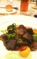 [肉料理 コース料理 リッ] メイン牛肉とニョッキ リッツ・カールトン東京