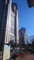 [東京都庁 都庁 西新宿 ] 都庁と青空