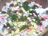 我が家は正月の残り物でバラ寿司をしますw