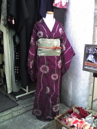コレって、コスプレ用の衣装なの? レトロな着物@鎌倉