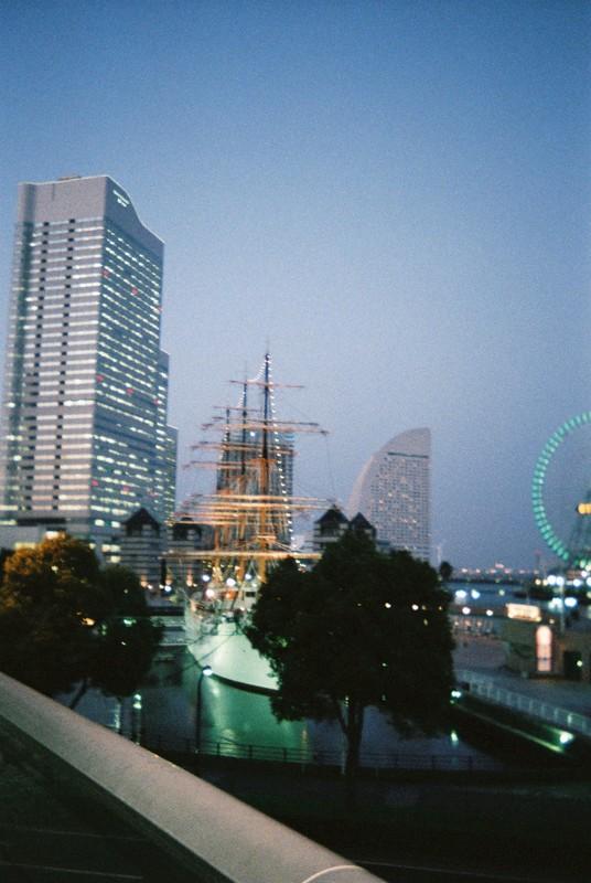 帆船・日本丸とMM21地区