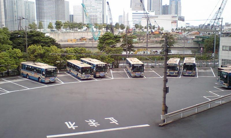 横浜市営バス バスの車庫らしい