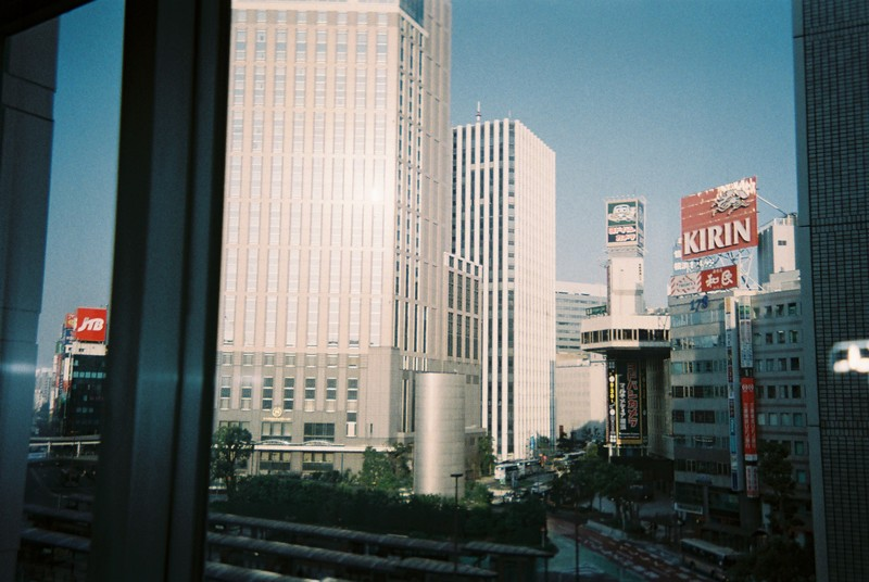 エクセルホテル東急横浜の窓辺から シェラトンホテル