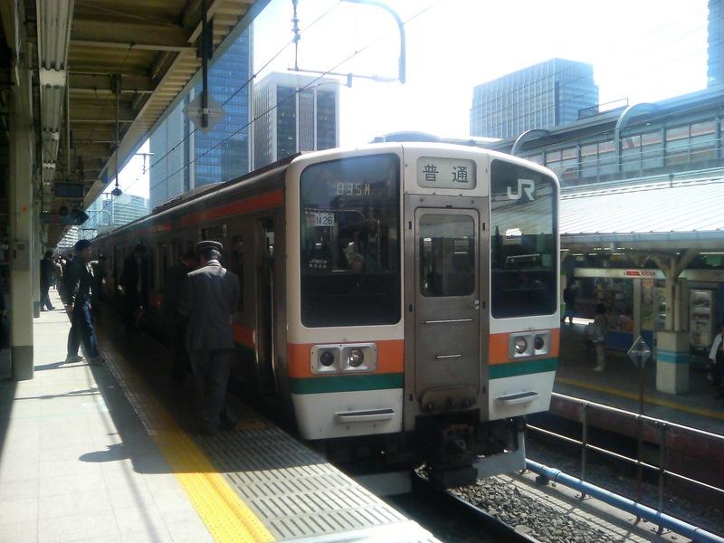 相方さん撮影 東海道線
