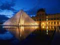 [フランス]ルーヴル美術館とピラミッド@Paris