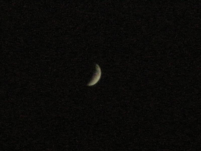 月食撮るにも、COOLPIXではコレが限界かも