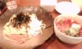 ある日の昼食のラーメン