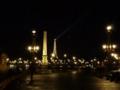 [フランス]ルクソール・オベリスクが見えるコンコルド広場@Paris