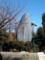 上野の国立科学博物館 屋外展示のシロナガスクジラ