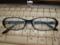 最新メガネ。PC作業用に買いました。