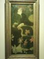 上野の国立西洋美術館にて。うさちゃんかわええ