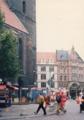 [ドイツ] ハノーヴァー (ハノーファー?)市街。英国王室のご先祖の元領地です